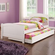 White Wood Single Bed Frame Child Youth White Cherry Wood Cottage Beadboard Single Bed