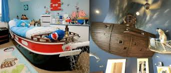 chambre de pirate comment réaliser une chambre de pirate deco loisirs