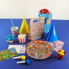 the party supplies the party cupboard where s wally birthday party bags where s