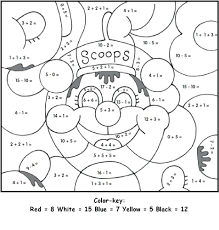 coloring pages color by number worksheets for adults free