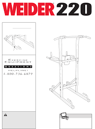 weider home gym 220 user guide manualsonline com