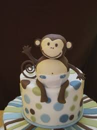 baby shower monkey monkey themed baby shower cakecentral