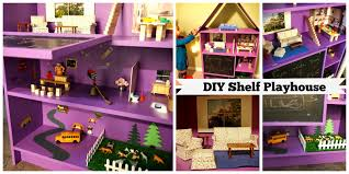 lake luv diy kids dollhouse from an old bookshelf