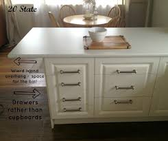 20 state white flatpack u shaped kitchen with island just add