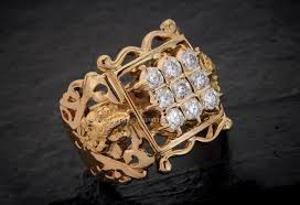 men big rings images Gold big ring for men from aabushan jewellery pinterest big jpg