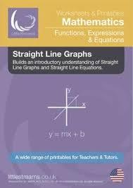 straight line graphs u0026 equations printables u0026 worksheets us
