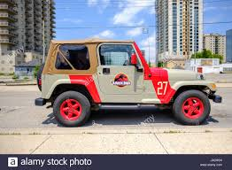 jeep hardtop custom custom painted jurassic park jeep jurassic park logo 4x4 vehicle