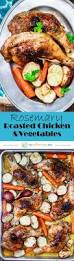 Roast Vegetables Recipe by Rosemary Roasted Chicken Recipe With Vegetables The