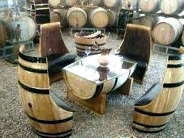 whiskey barrel side table whiskey barrel furniture whiskey barrel coffee table ebay
