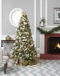 christmas trees 7ft prelit fiber optic 7u0027 green artificial