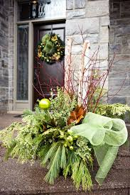 Christmas Decorations For Outdoor Urns by Category Christmas Decorating Ideas Home Bunch U2013 Interior