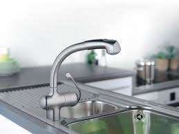 grohe ladylux kitchen faucet grohe ladylux plus high profile pull out w watercare kitchen