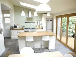 extensions kitchen ideas velux pine finish centre pivot roof windows match the wooden trim