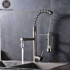 Water Ridge Kitchen Faucet Brushed Nickel Water Ridge Kitchen Faucet Spout Sprinkle
