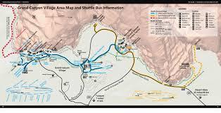 Grand Canyon Maps Grand Canyon Map Alltrips