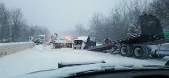 massive pile up crash on i 91 in connecticut shuts down highway