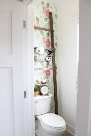 Pinterest Bathroom Decor by Top 25 Best Small Bathroom Wallpaper Ideas On Pinterest Half
