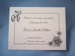 Wedding Invitation Rsvp Cards Wedding Invitation Response Card Reduxsquad Com