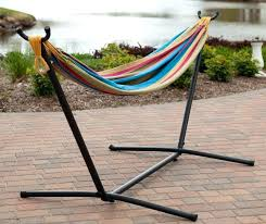steel hammock stand with and canopy contemporary hammocks swing