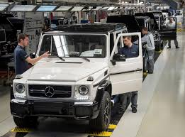 mercedes g class 2016 mercedes benz g class production reaches 20 000 units per year for
