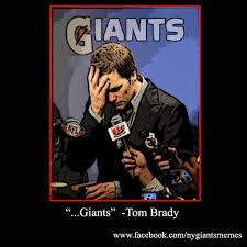 Funny Ny Giants Memes - tom brady and the ny giants from nyg