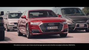 2018 audi a8 shows systems as little people inside the car u0027s