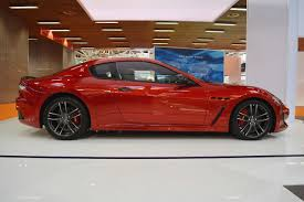 2016 maserati granturismo red maserati granturismo mc stradale centennial edition profile at