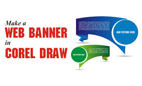 layout banner impresso corel draw tutorial how to make a web banner in corel draw youtube