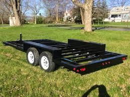 tiny house trailer frame 7000 lb 100 inch x 16 feet th7000a16