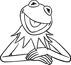 muppets coloring pages pdf christmas carol colouring the frog face