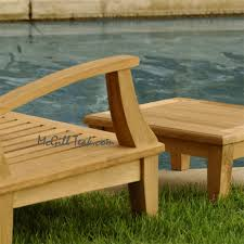 Teak Outdoor Chairs Outdoor Patio Deep Seating Lounge Chair Bali Lounge Chair