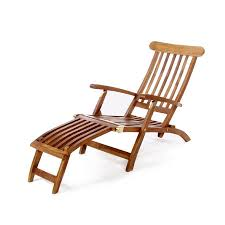 Lounge Chairs For Patio Shop All Things Cedar Brown Teak Folding Patio Chaise Lounge Chair
