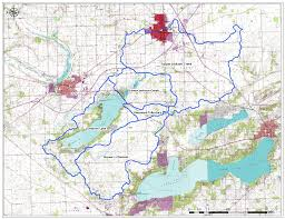 Wisconsin Lake Maps by Watershed Plan Town Of Delavan Walworth County Wisconsin