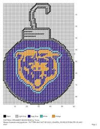 47 best plastic canvas chicago bears images on chicago