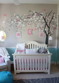Chair Rail Color Combinations Pinspiration 125 Chic Unique Baby Nursery Designs Pink Color