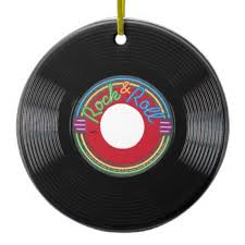 rock roll 45 ornaments rockin 50s relay