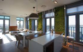 green grass walls apartment by svoya studio 心靈研磨坊