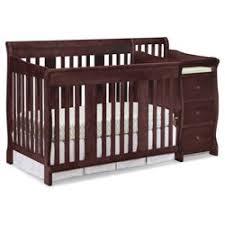 Target Convertible Cribs Delta Children Lancaster 4 In 1 Convertible Crib Target