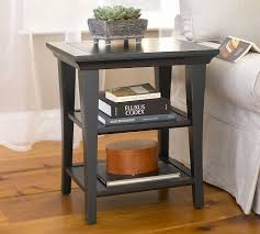 Small Side Table Metropolitan Rectangular Side Table Pottery Barn