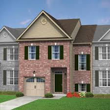 caldwell townhome trio fields floor plans kay builders
