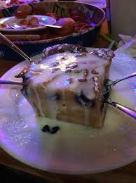 white chocolate blueberry bread pudding picture of sammy u0027s grill