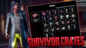 pubg items 30 pubg survivor crates pubg crate opening youtube