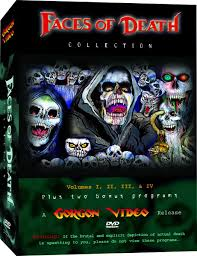 faces of death glow in the dark poster u2013 gorgon video