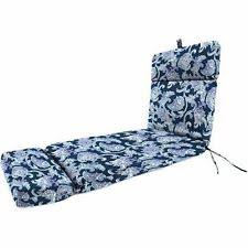 patio chaise lounge cushion replacement pad blue for outdoor