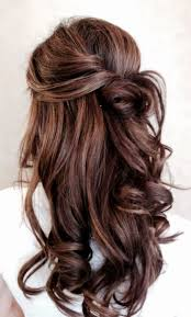 casual long hair wedding hairstyles i love this look maybe not for a wedding but for another special