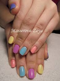 multi color nails the best images bestartnails com