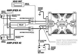 tda 1553 car audio amp circuit and wiring diagram