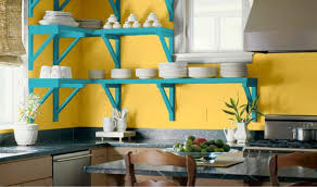 Blue Yellow Kitchen - download blue color schemes for kitchens homesalaska co
