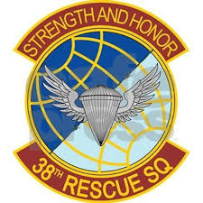 38th rescue squadron strength and honor stein by