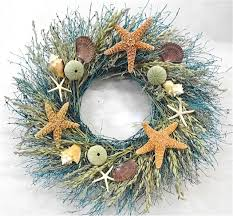 door wreaths walk on the summer door wreath sea shells
